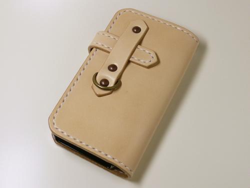iPhone5/5s/SE(第一世代) サドルレザーケース ip5-2