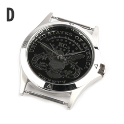 時計文字盤D
